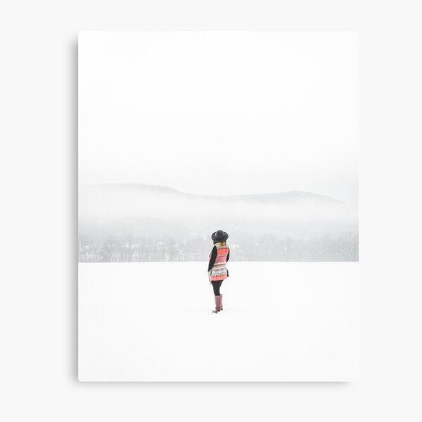 Winter Dreaming Metal Print