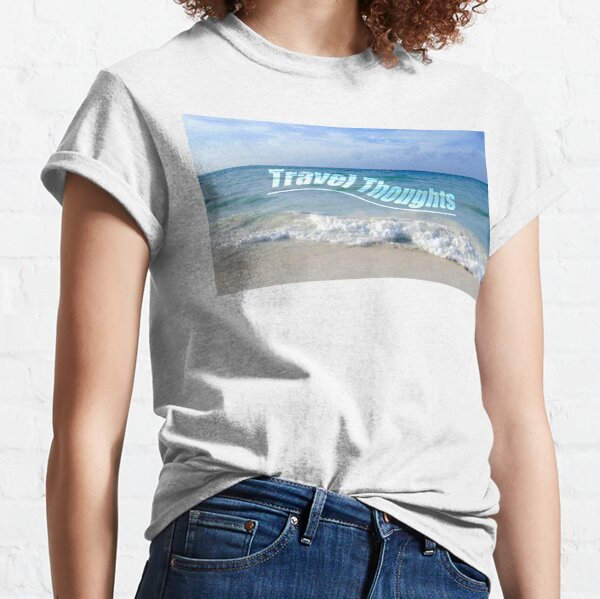 Travel Thoughts' logo Classic T-Shirt