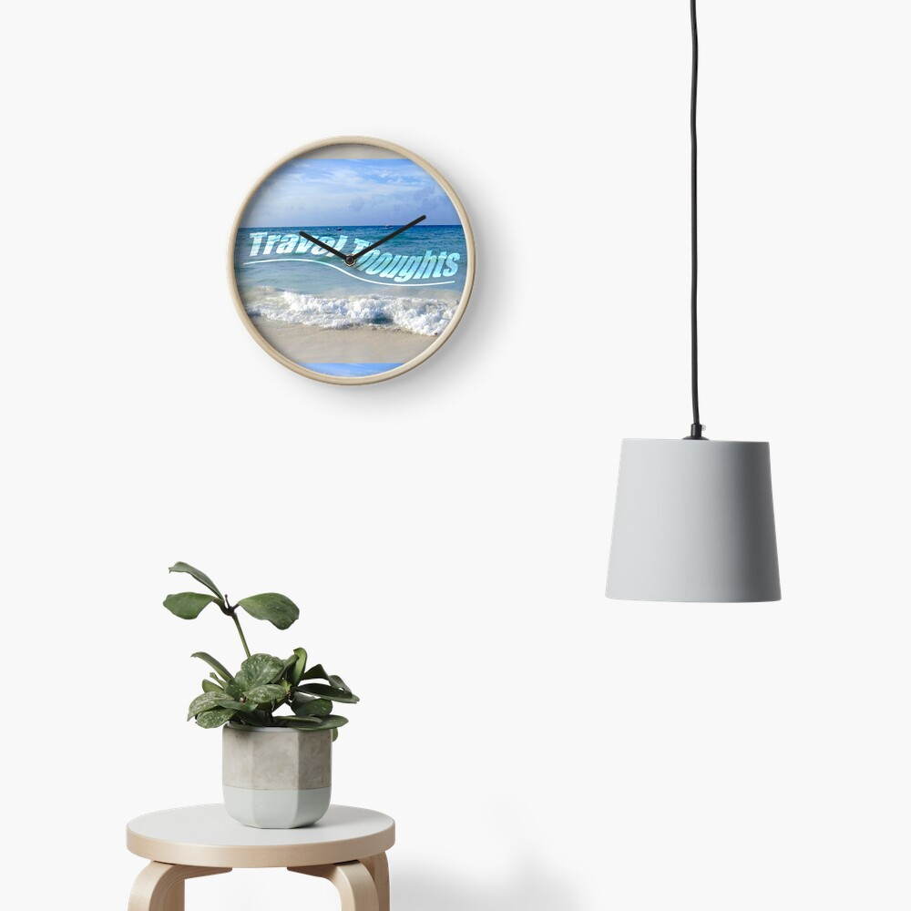 Travel Thoughts' logo Clock