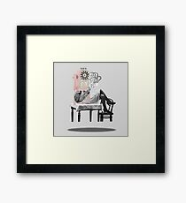you're a phony Framed Print