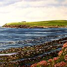 """Kilbaha - county Clare, Ireland"" - Oil Painting by Avril Brand"