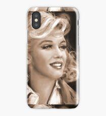 Marilyn Sepia iPhone Case/Skin