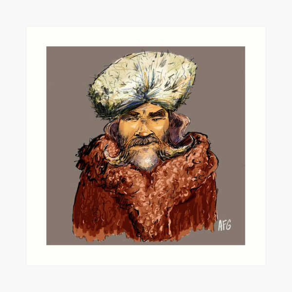 Mountain Man Art Print