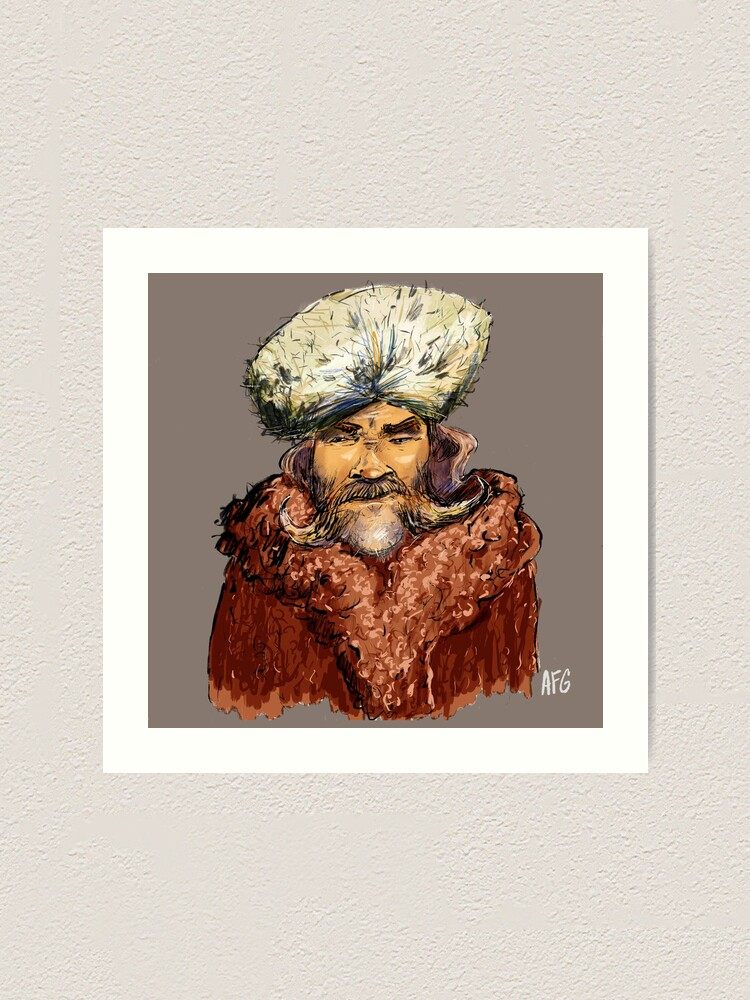 Alternate view of Mountain Man Art Print