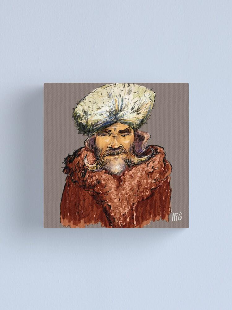 Alternate view of Mountain Man Canvas Print