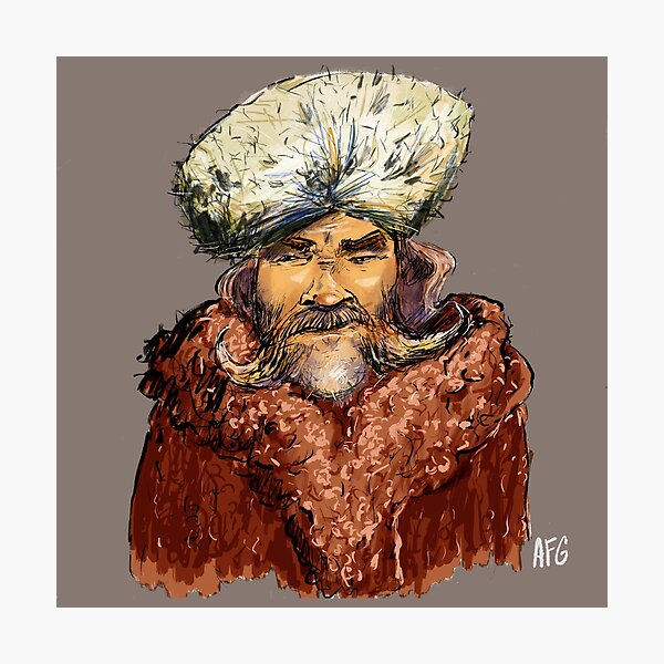 Mountain Man Photographic Print