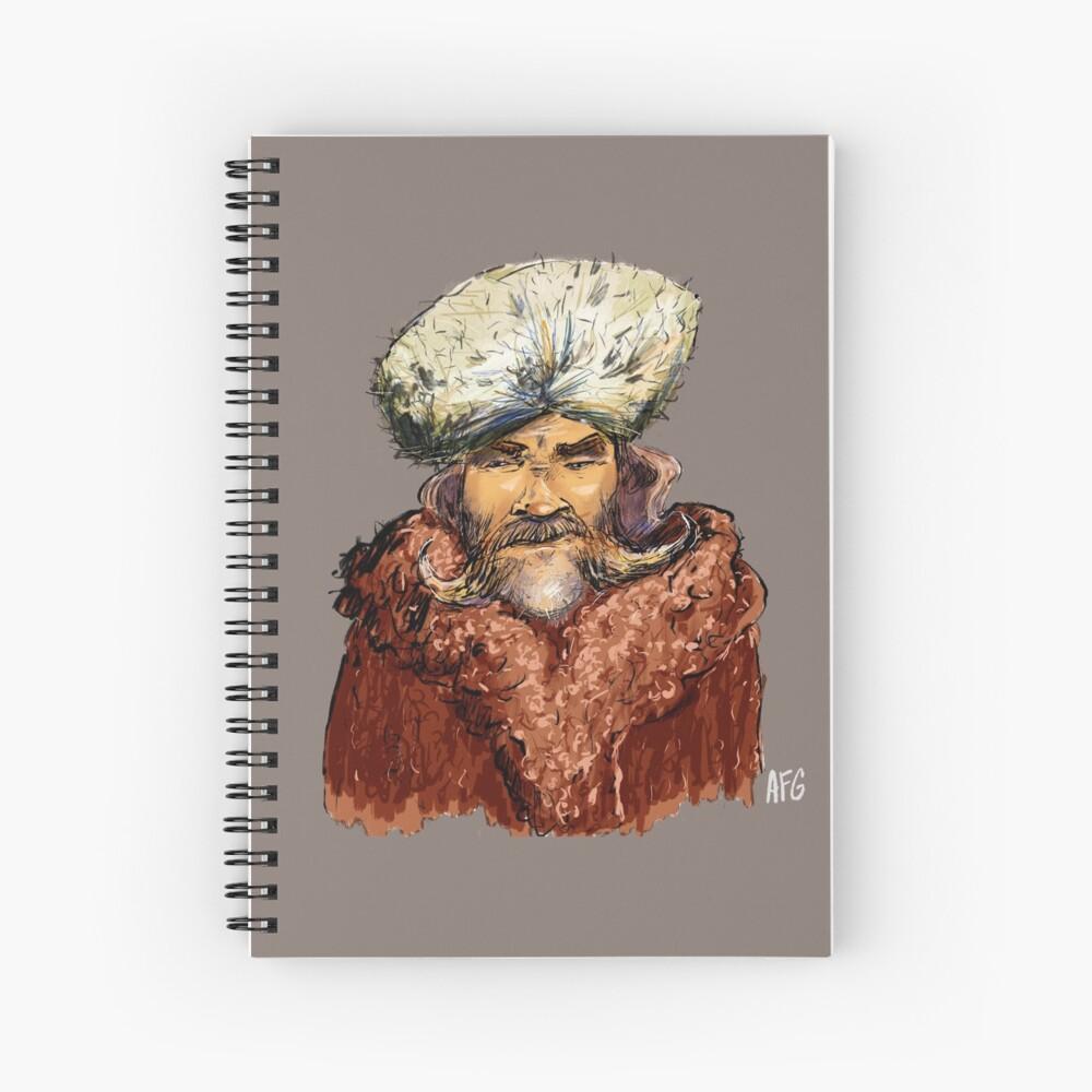 Mountain Man Spiral Notebook