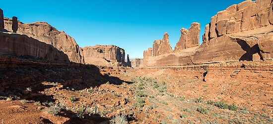 Park Avenue – Arches National Park, Utah by Jason Heritage