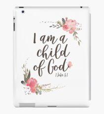 Vinilo o funda para iPad soy un niño de Dios