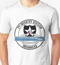 2nd Infantry CIB Unisex T-Shirt