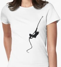 Ninja Stealth Womens Fitted T-Shirt