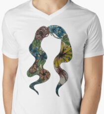 Flair  Men's V-Neck T-Shirt