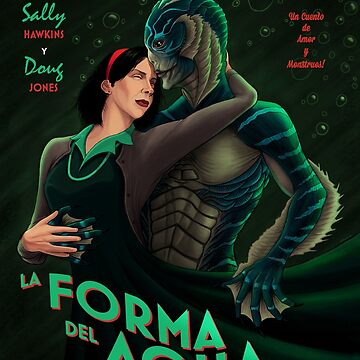 La Forma Del Agua by agliarept