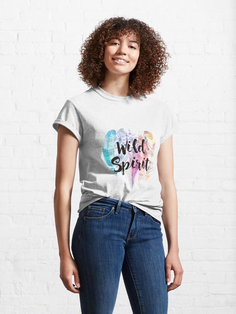Vista alternativa de Camiseta clásica Wild spirit