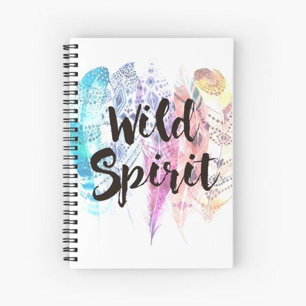 Wild spirit Cuaderno de espiral