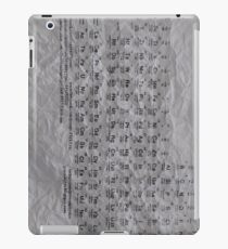 Periodic Table of the Elements iPad Case/Skin