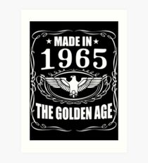 Made In 1965 - The Golden Age Art Print