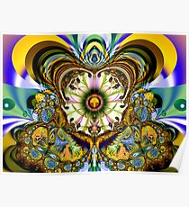 Fractal illusions Poster