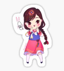 Smol!Dva Sticker