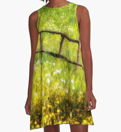 Summer in the Countryside A-Line Dress