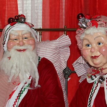 Santa And Mrs. Claus by Cynthia48