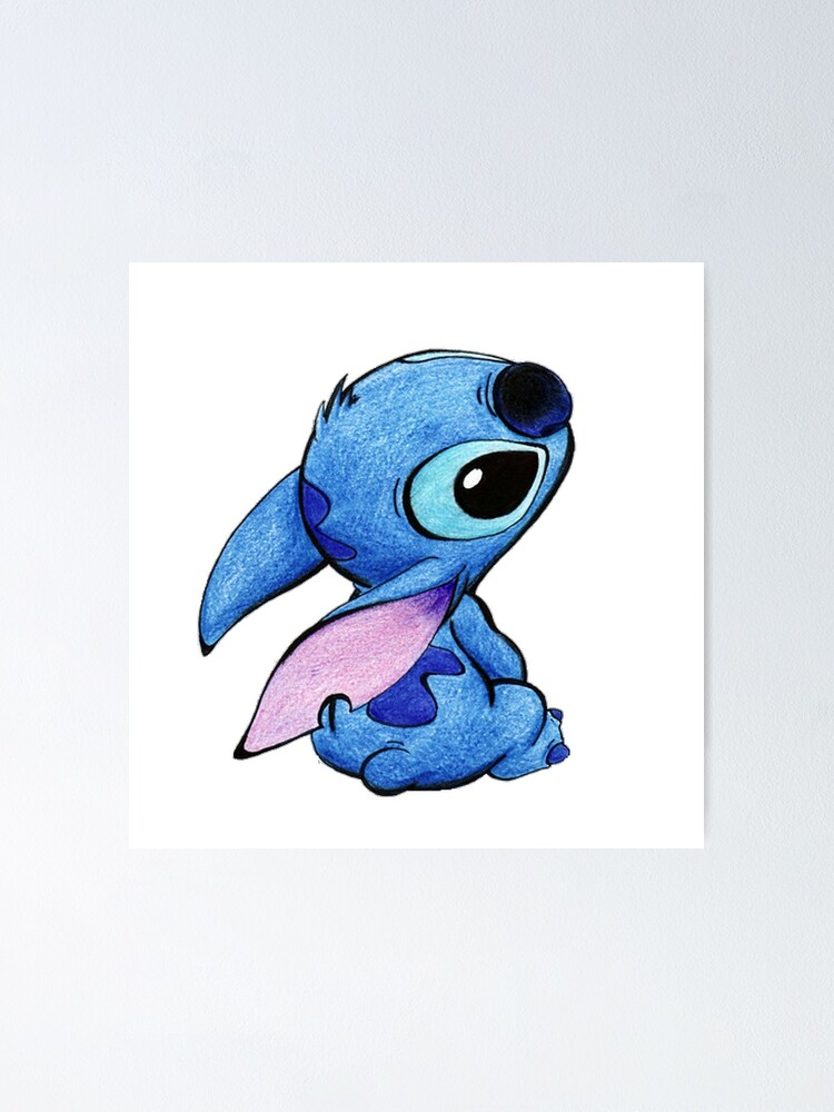 "Cute stitch !"" Poster by pascalinak 