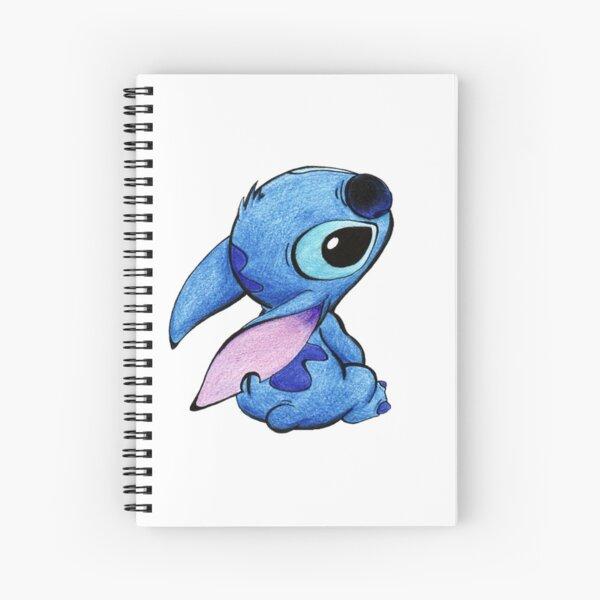 Cute stitch ! Spiral Notebook
