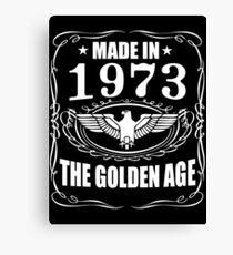 Made In 1973 - The Golden Age Canvas Print