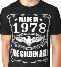 Made In 1978 - The Golden Age Graphic T-Shirt