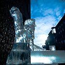 Ice Sculpture - Norwich by Alan Bennett