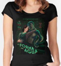 La Forma Del Agua Women's Fitted Scoop T-Shirt