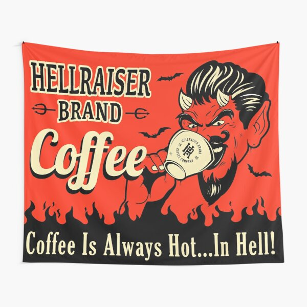 Hot Coffee  Tapestry