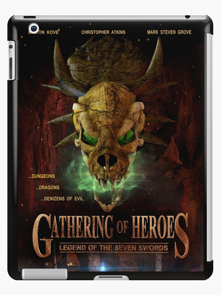 Gathering of Heroes: Legend of the Seven Swords Dragon Poster by InfernoFilm