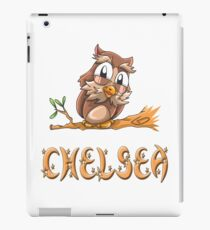 Chelsea Owl iPad Case/Skin