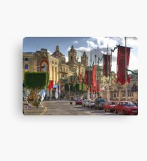 Bormla in festa mood Canvas Print