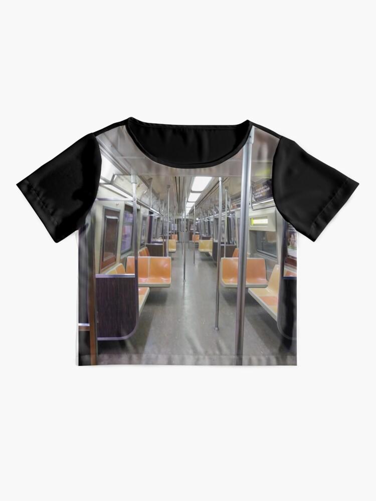 Alternate view of Subway Vagon Chiffon Top