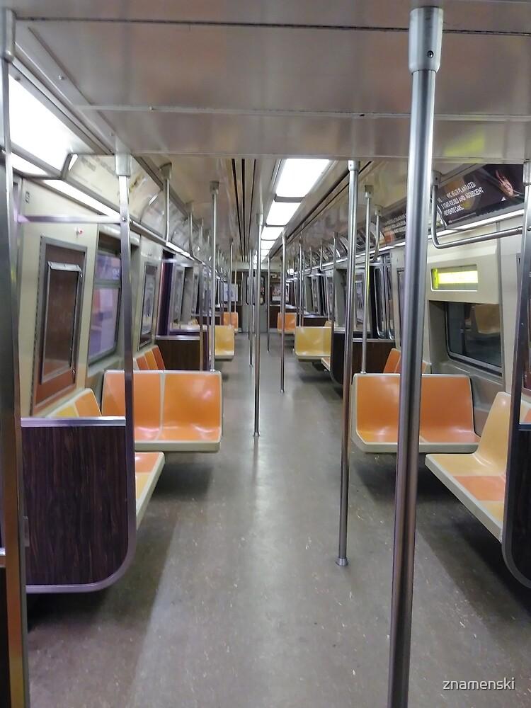 Subway Vagon by znamenski