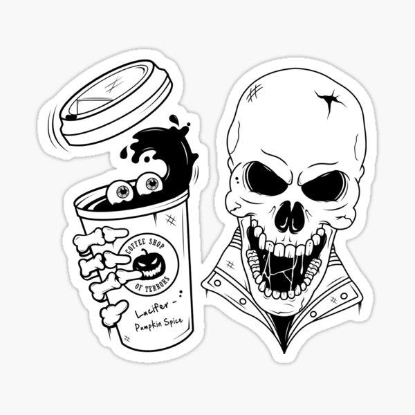 Scream or Sugar?  Sticker