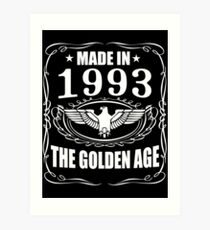 Made In 1993 - The Golden Age Art Print