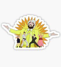 Sunny Gang Design Sticker
