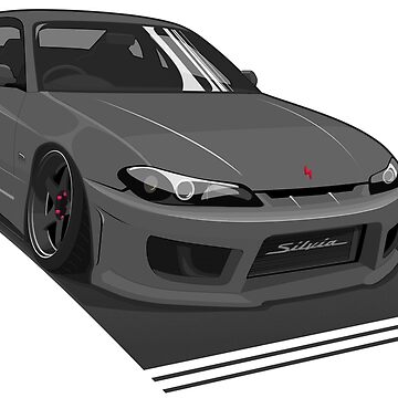 Nissan Silvia S15 Illustration by madebyluddy