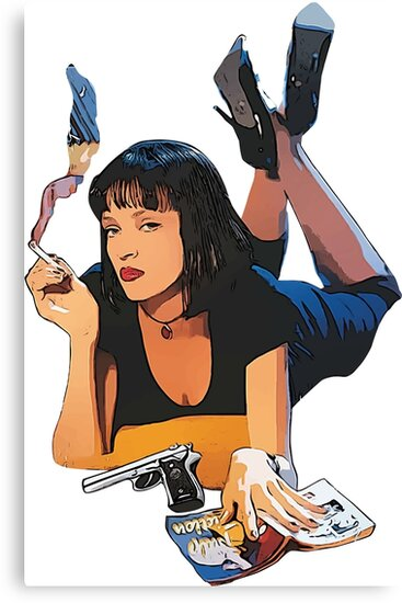 Pulp Fiction by camlaf