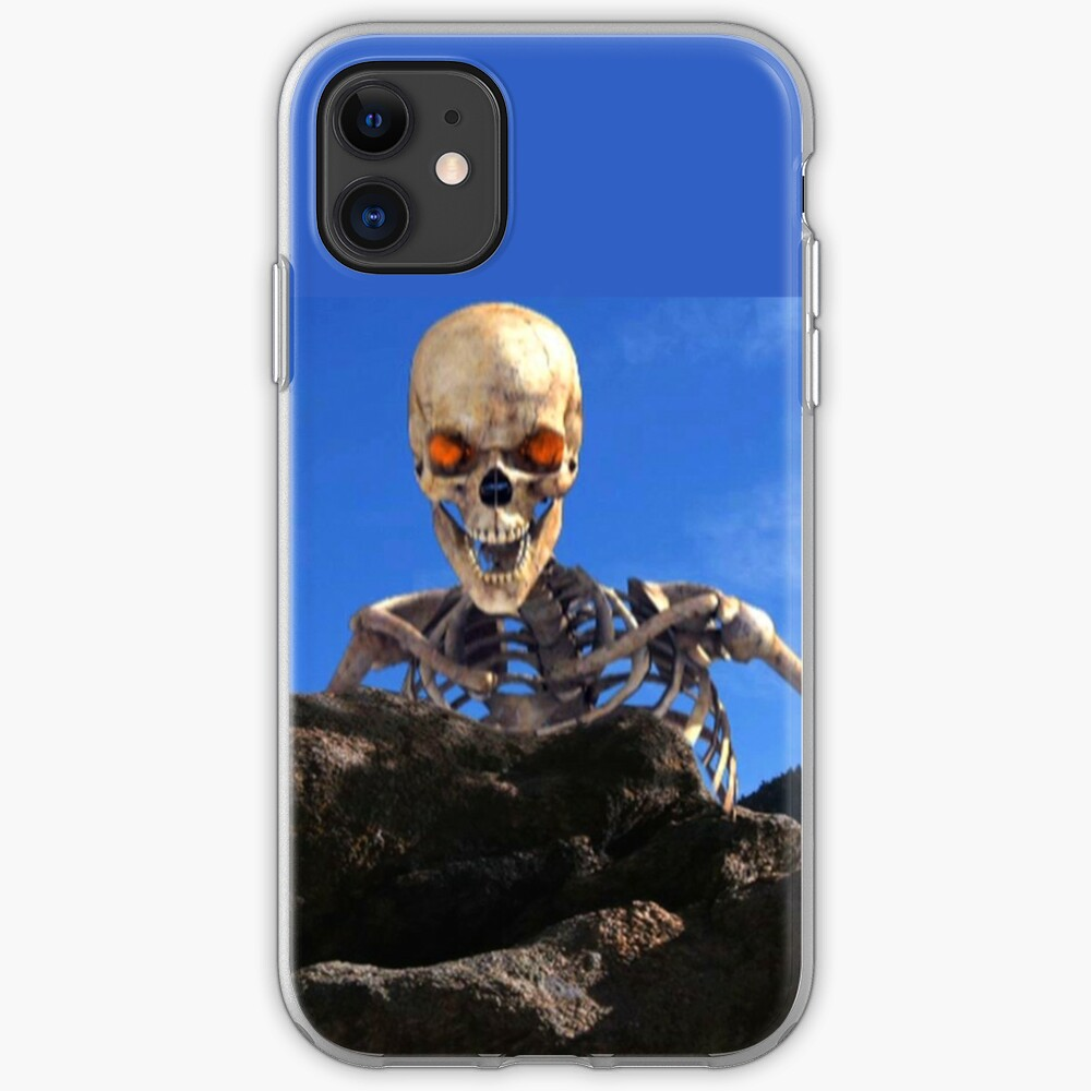 Undead looking over rocky summit in Gathering of Heroes: Legend of the Seven Swords iPhone Case & Cover