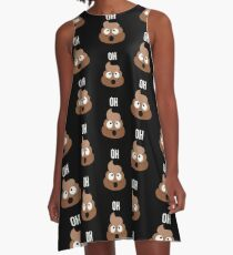 Oh Pile of Funny Poop A-Line Dress