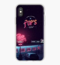 Vinilo o funda para iPhone Pop's Diner