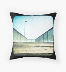 Spaghetti Jetty Throw Pillow