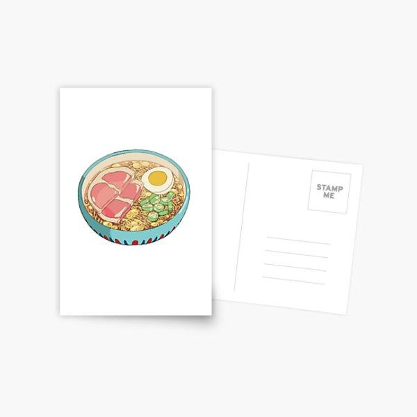 Ramen Postcard