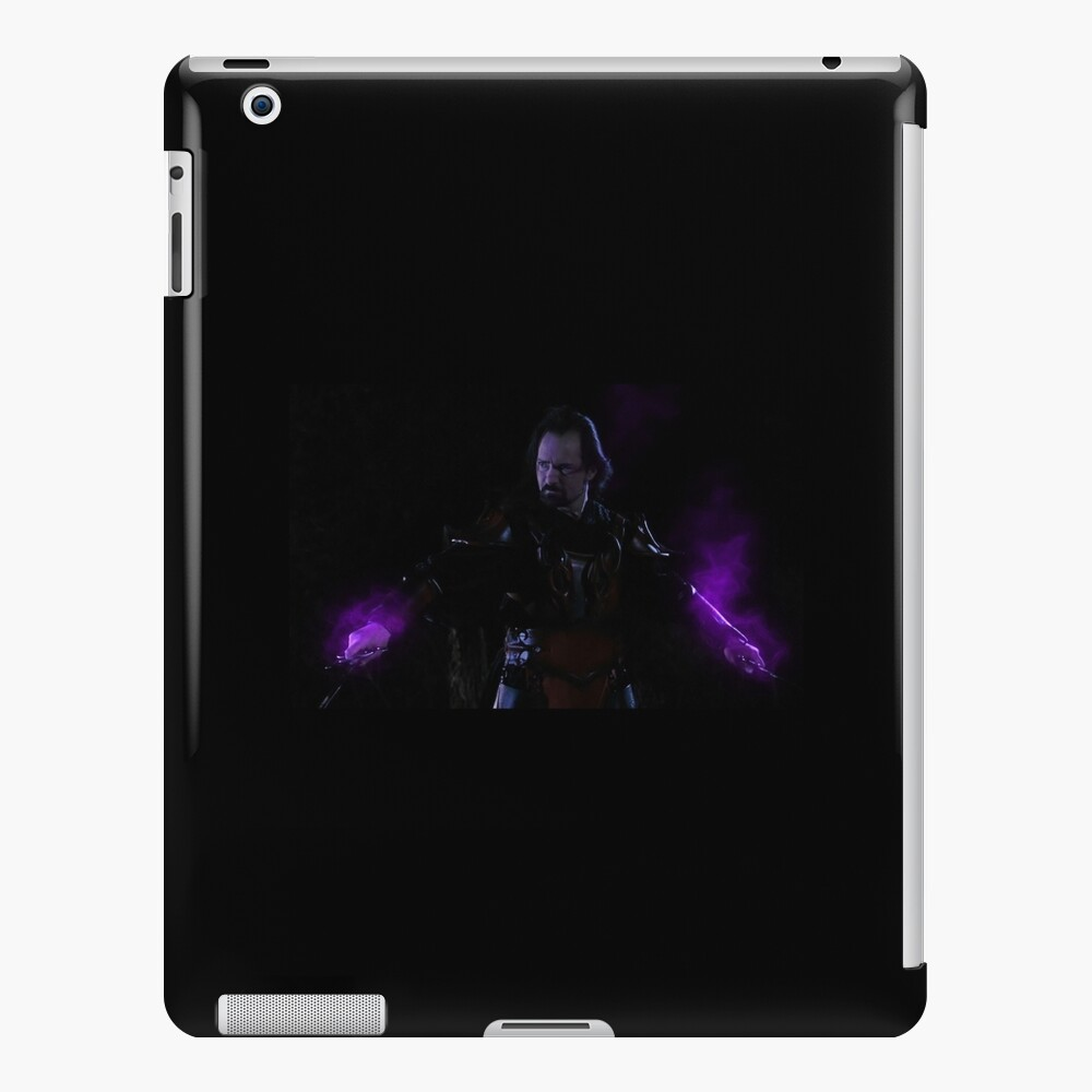 The Power of the Ebony  Knights from Gathering of Heroes: Legend of the Seven Swords iPad Case & Skin