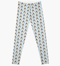Happy Party Penguin Leggings
