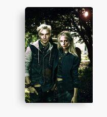 Buffy & Spike Canvas Print